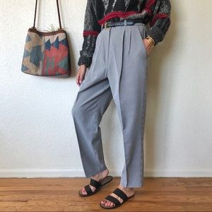 Vintage 80s/90s High Rise Gingham Pants